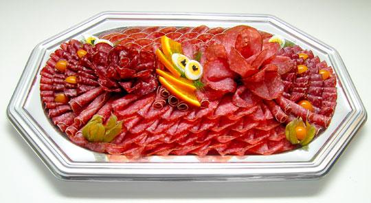 Salamiplatte